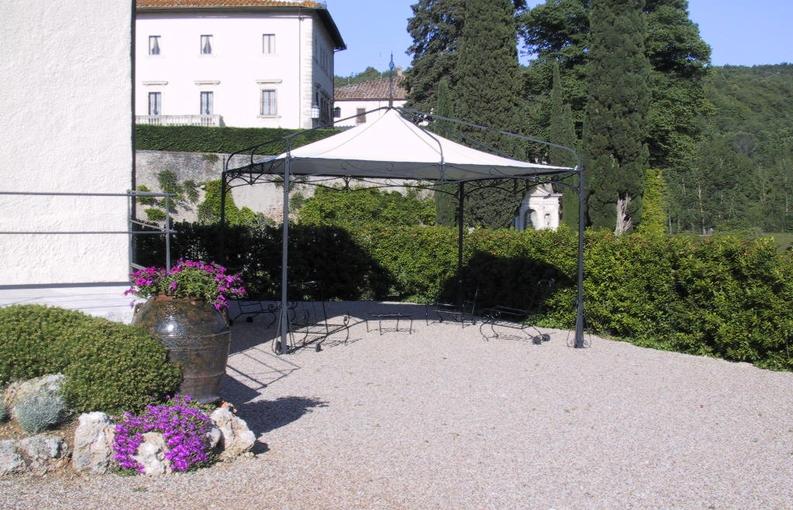 Five stars italy gazebo da esterno e giardino in ferro for Mobili per esterno in ferro