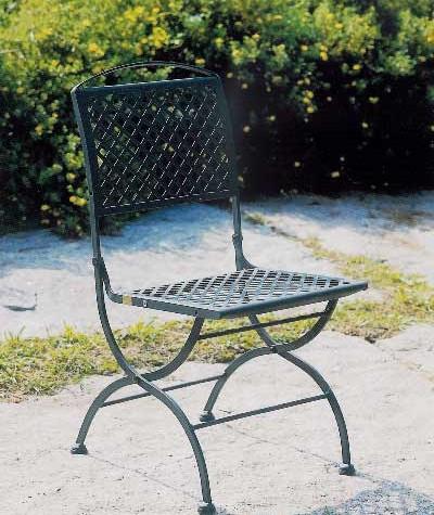 Sedia in ferro five stars sedia pieghevole in ferro sedia for Poltroncine in ferro da esterno